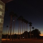 Night sky at AGCC